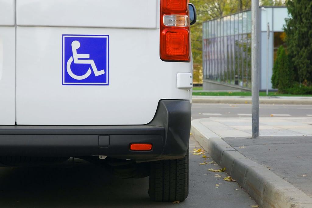 Wheelchair van