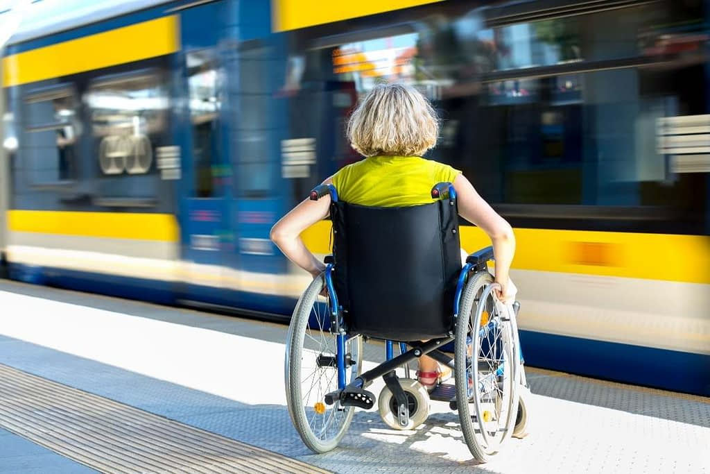 Wheelchair public transport