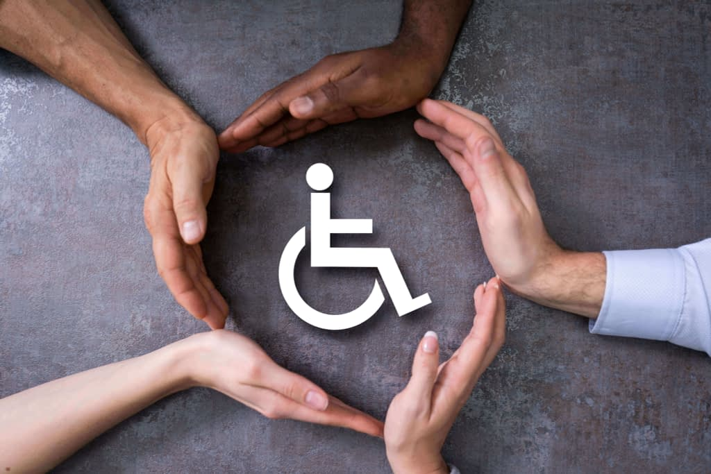 Disabled patient faced daily life problems