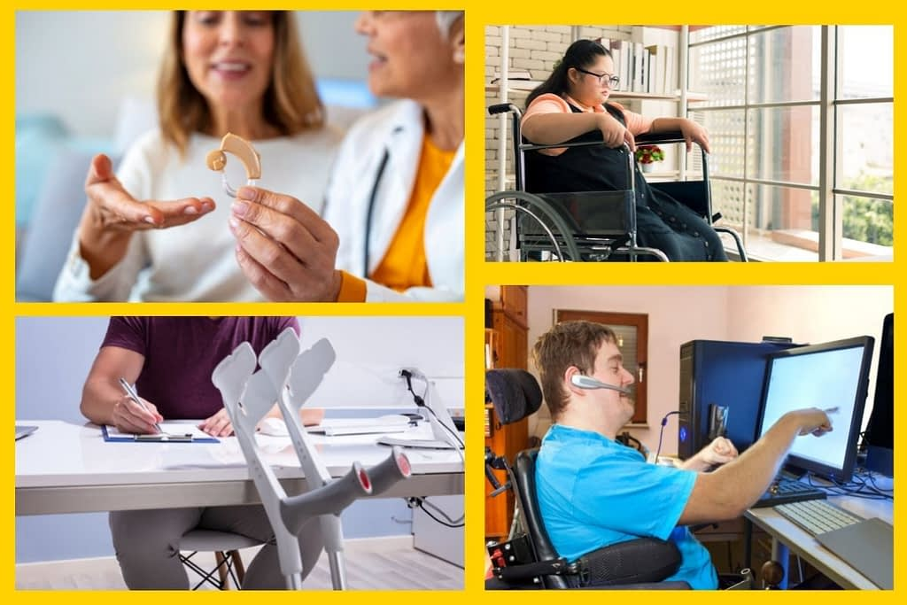 Equipment for Disabled persons