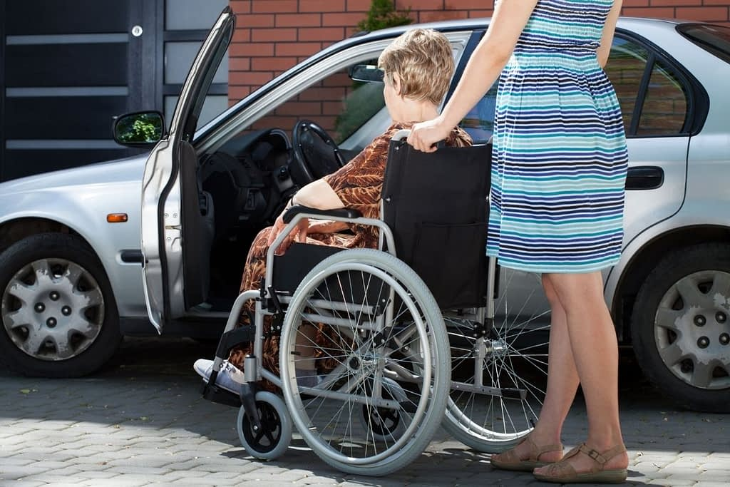How to Transfer Someone in a Wheelchair into the Car